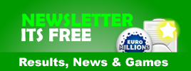 eLottery Newsletter - It's FREE! Results, News & Games